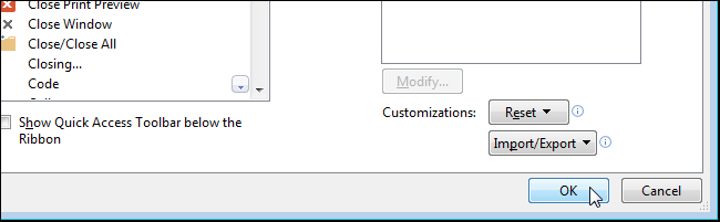 i closed the word document without saving