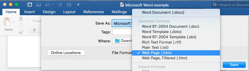 how to save a photo from a word document