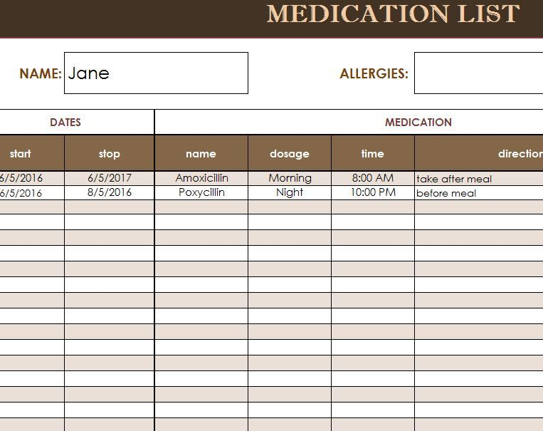 how to document medication administration