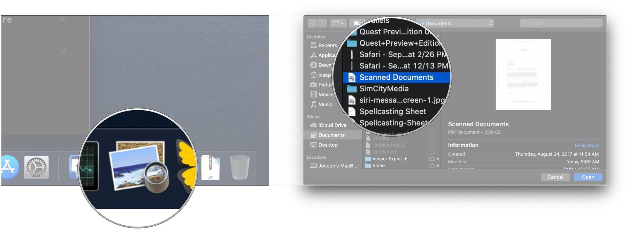 how to sign a document in mac preview
