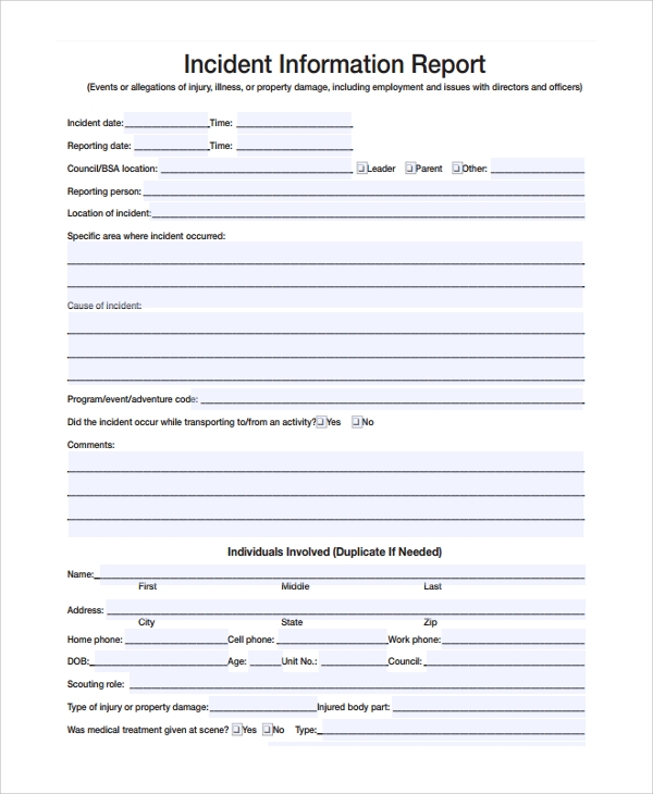 property condition report word document