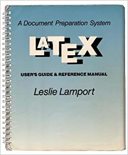 latex a document preparation system