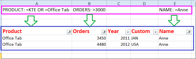 filter criteria excel workbook and documentation geotech