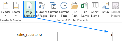 word document footer only one page
