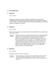 skin hair and nails assessment documentation
