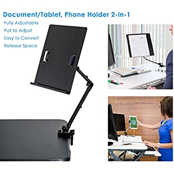 document holder for computer monitor