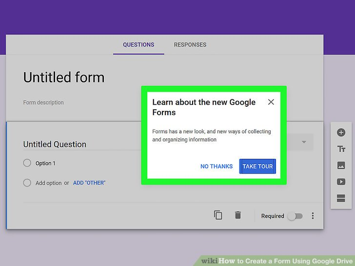how to create a document in google drive