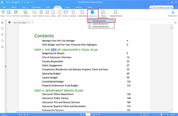 how to revise a pdf document
