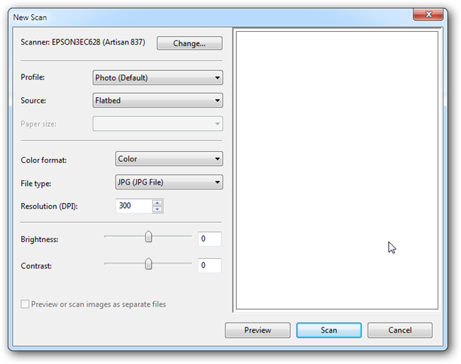 how to scan multiple pages into one document epson