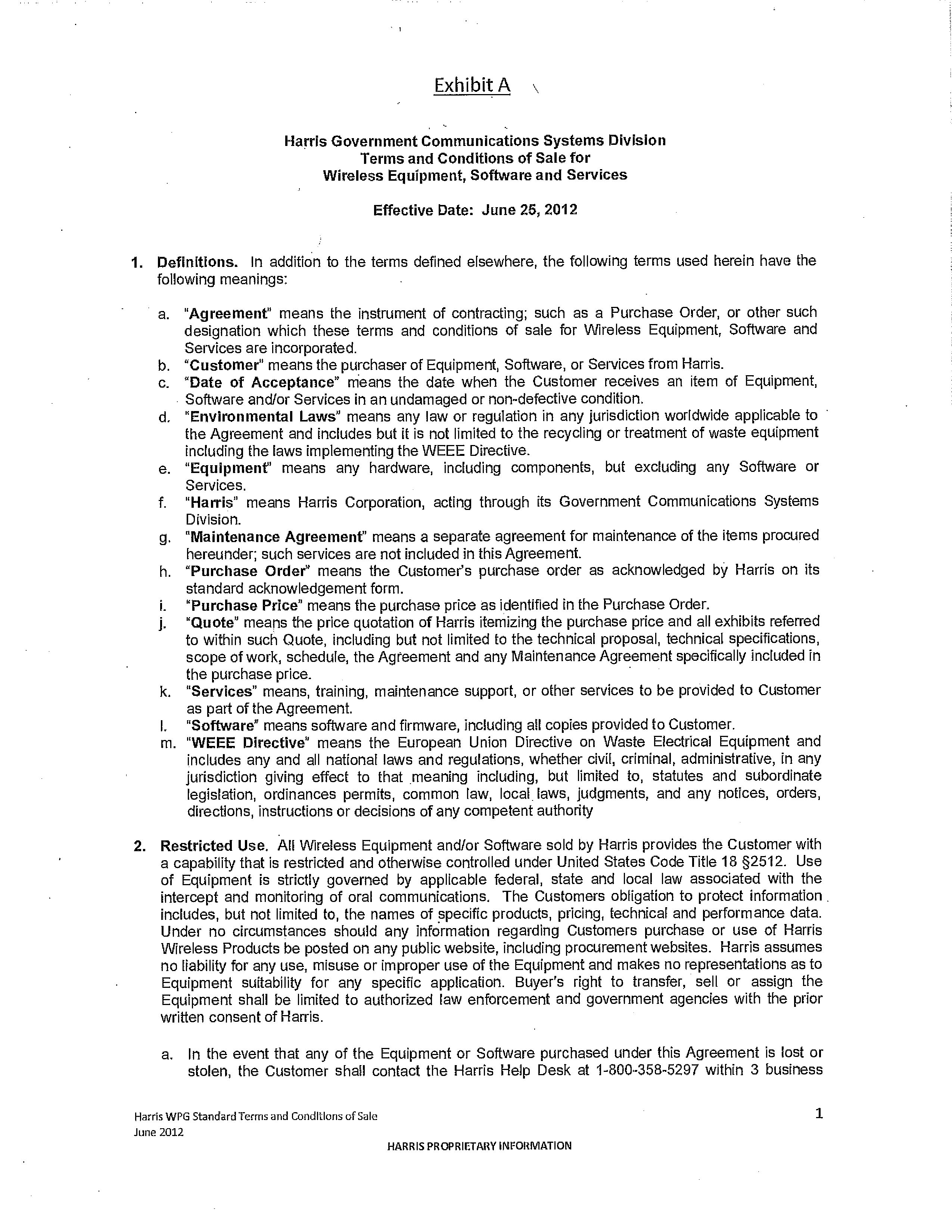 infotrack search standard terms document