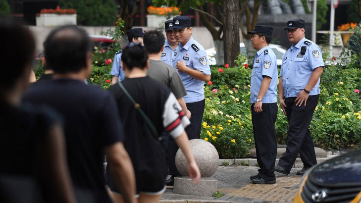 singapore police check scanned identification document